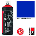 NEU Marabu Artist Spray Paint, 400ml, Ultramarin