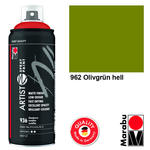 Marabu Artist Spray Paint 400ml, Olivgrün hell