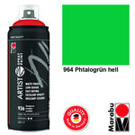 NEU Marabu Artist Spray Paint 400ml, Pht.grün hell