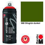 Marabu Artist Spray Paint 400ml, Olivgrün dkl.