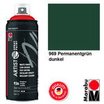 NEU Marabu Artist Spray Paint 400ml, Perm.grün dkl