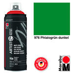 Marabu Artist Spray Paint 400ml Phtalogrün dkl
