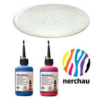 Nerchau Window Art, 80 ml, Silberflitter PREISHIT