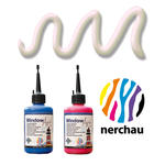 SALE Nerchau Window Art 80 ml Konturen-Perlsilber