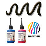 Nerchau Window Art, 80 ml, Konturen-Schwarz