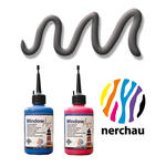 SALE Nerchau Window Art, 80 ml, Konturen-Anthrazit