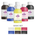 Paint It Easy Fingerfarbe 750ml Basic Set