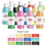 Paint It Easy Bastellack 250ml Profi Set