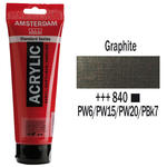Amsterdam Acrylfarbe 250ml, Graphit