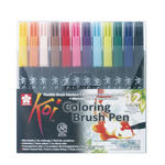 NEU Koi Coloring Brush Pen, 12er Set
