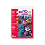 Fimo Soft Materialpackung gro�, 24 Halbbl�cke
