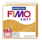 Fimo Soft Basisfarbe 57g, Sunny Orange
