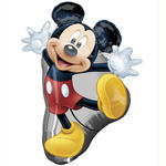 Folienballon Mickey Full Body, 55x78 cm