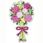 SALE Folienballon For You Bouquet, 45x76 cm
