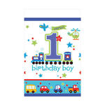 Tischdecke All Aboard 1. B.day Boy, 1,3x2,4 m