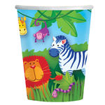 SALE Becher Jungle Animals, 266 ml, 8 Stk.