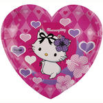 SALE Teller CharmmyKitty Hearts Herzform 20cm 6 St