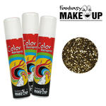Glitter-Haar-Spray, 75ml, Glitter-Gold