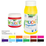 MUCKI Fingerfarbe Rot 750 ml