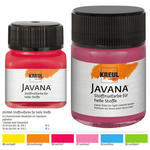Javana Tex FLASH Stoffmalfarbe, 20ml, Leuchtblau