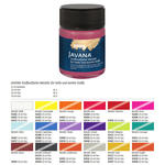 SALE JAVANA Tex Stofffarbe Metallic Rubinrot 20ml