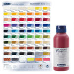 Akademie-Acryl 250ml, Kadmiumrotton