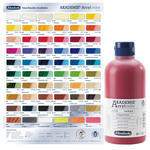 AKADEMIE  Acryl color, Silber, 500 ml
