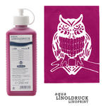 aqua-LINOLDRUCK, Magenta, 250 ml