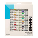 Reeves Aquarellfarben-Sortiment, 24x10ml