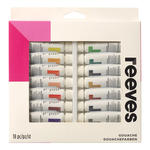 SALE Reeves Gouachefarben Sortiment, 18x10ml