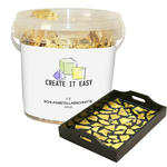 NEU Create It Easy Schlagmetallabschnitte, Gold, 4g