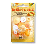 Knöpfe-Mix, 30 g, Ton in Ton Mix Gelb