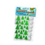 Moosgummi-Glitter-Sticker Winter, 40 St�ck