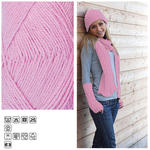 Strickgarn ´Lisa´, 50g, Fb. 31, Rosa