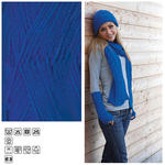 Strickgarn Lisa, 50g, Fb. 35, Royalblau