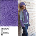 Strickgarn ´Lisa´, 50g, Fb. 43, Lila