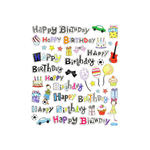 Hobby-Design Sticker Happy Birthday