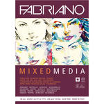 Fabriano Mixed Media, A4, 250g/qm, 40 Blatt