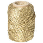 Dekoschnur metallic, 20m, Gold
