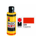 Marabu Basic Acryl 80ml,  Cayenne