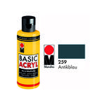 Marabu Basic Acryl 80ml, Antikblau
