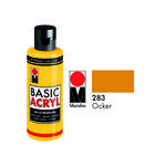 Marabu Basic Acryl 80ml, Ocker