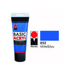 SALE Marabu Basic Acryl 225ml, Mittelblau