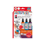 Marabu Fashion-Spray Set, 3x100ml, 'Indian Spirit'