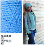Strickgarn ´Lisa´, 50g, Fb. 17, Blue