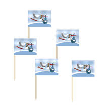 Party Picker Baby Boy mit Storch, blau