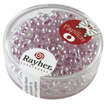 Papillon-Rocailles, 3,2x6,5 mm, 18g, flieder