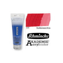 Akademie-Acryl 120ml, Kadmiumrotton
