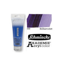 Akademie-Acryl 120ml, Brilliantviolett