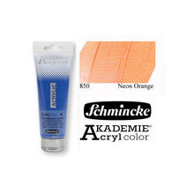 Akademie-Acryl 120ml, Neon Orange